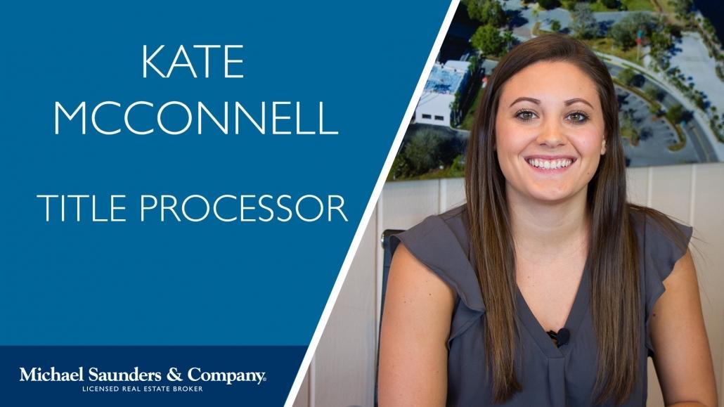 Kate M Title Processor Real Estate Office Sarasota