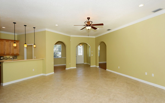 Fiddlers Green Open floor plan