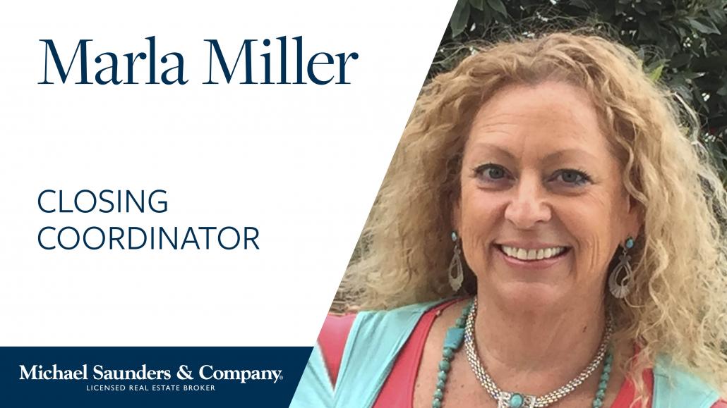 Marla Miller, Sales Coordinator